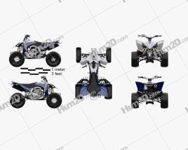 Yamaha YZF-450 2020 clipart