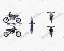 Yamaha YZ85 2019 Motorcycle clipart