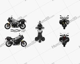 Yamaha Tracer9 GT 2021 Motorrad clipart