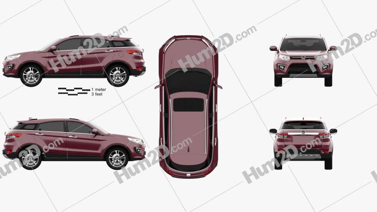 Yusheng S330 2017 car clipart