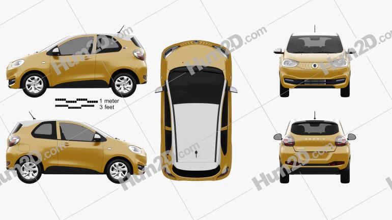 Zedriv GC2 2019 car clipart