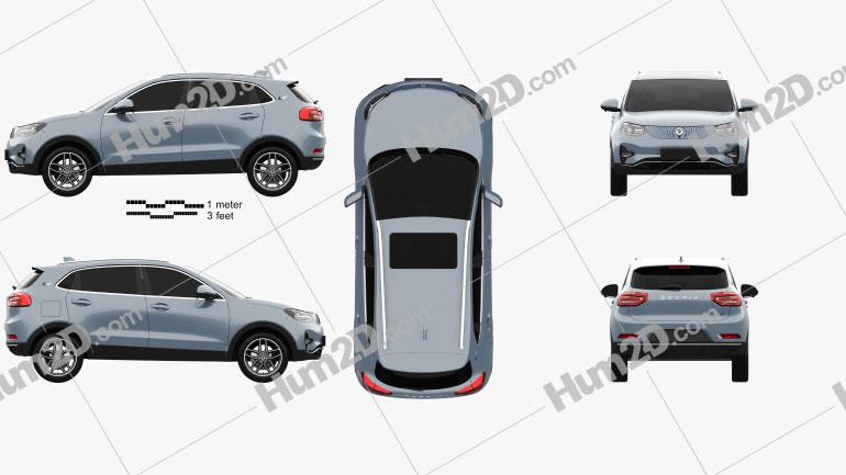 Zedriv GX5 2019 car clipart
