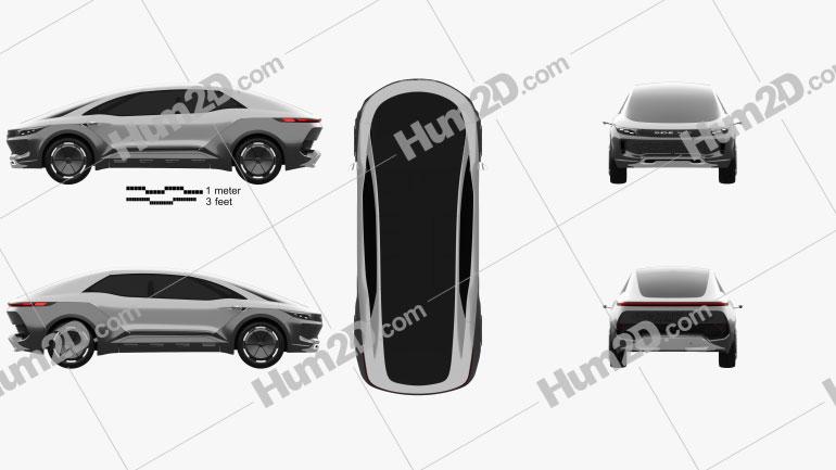 Zhiche Auto MPV 2016 car clipart