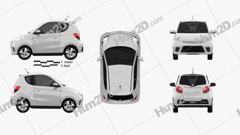 Zhidou D2 2020 car clipart