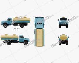 ZIL 130 Tanker Truck 1964