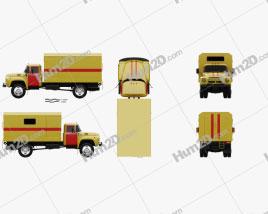 ZIL 130 Service Truck 1964