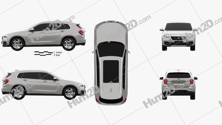 Zinoro 60H 2016 car clipart