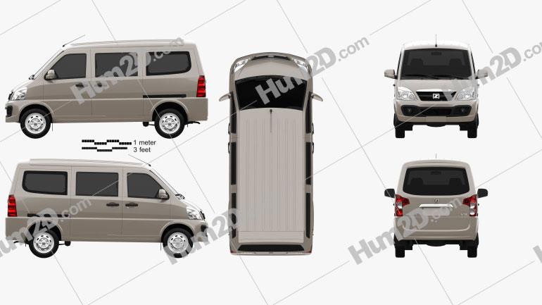 Zotye V10 2011 clipart