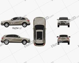 Zotye T600 2013 car clipart