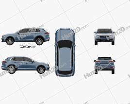 Zotye Domy X7 2017 car clipart