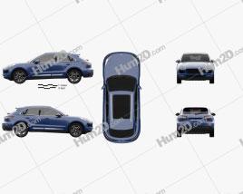 Zotye SR9 2016 car clipart