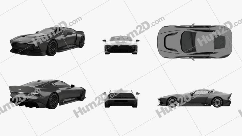Aston Martin Victor 2020 car clipart
