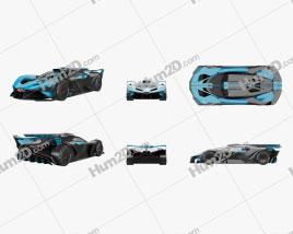 Bugatti Bolide 2021 car clipart