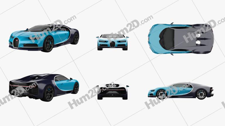 Bugatti Chiron PNG Clipart Image
