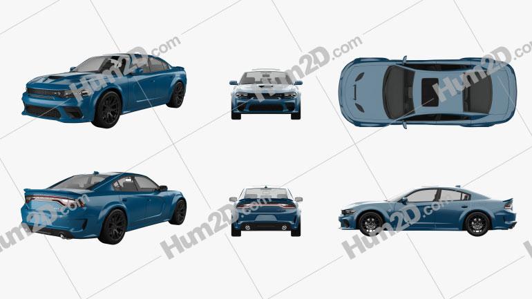 Dodge Charger SRT Hellcat PNG Clipart Image