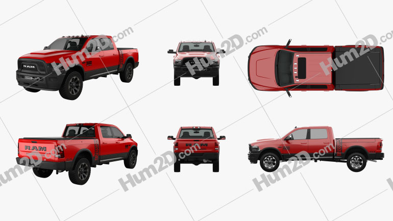 Dodge Ram Power Wagon PNG Clipart Image