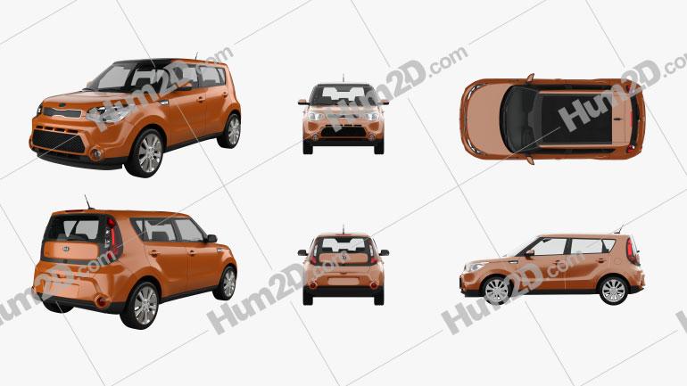 Kia Soul PNG car clipart
