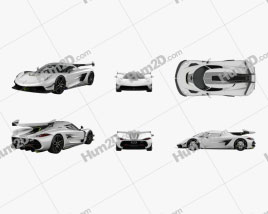 Koenigsegg Jesko 2020 car clipart