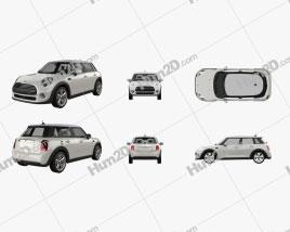 Mini Cooper 2014 PNG car clipart