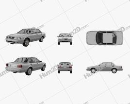 Nissan Tsuru 2004 car clipart